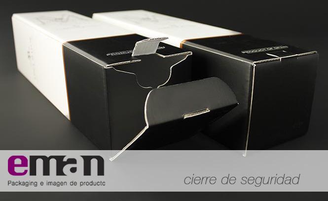 Caja Con Cierre De Seguridad Eman Packaging
