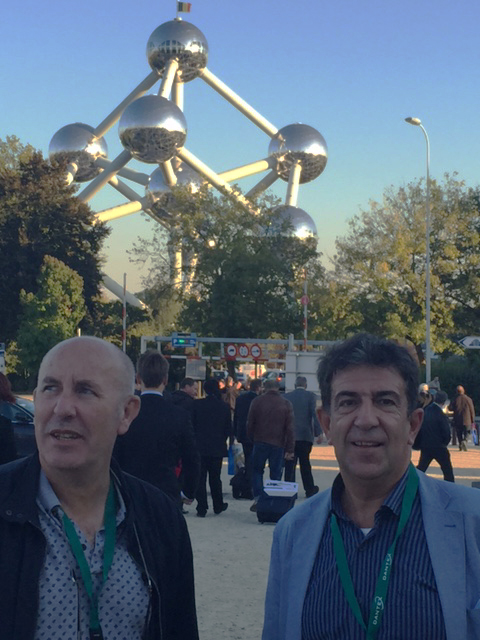 Ricardo Sempere Gerente de Eman Packging y Jose Ramón Benito Presidente del Grupo Docu-World