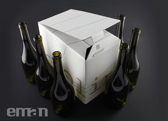 Eman Packaging caja 6 botellas