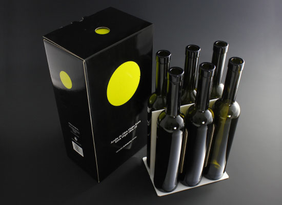 Caja 6 botellas aceite oliva